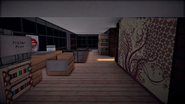 Prologue Modern House build minecraft 7