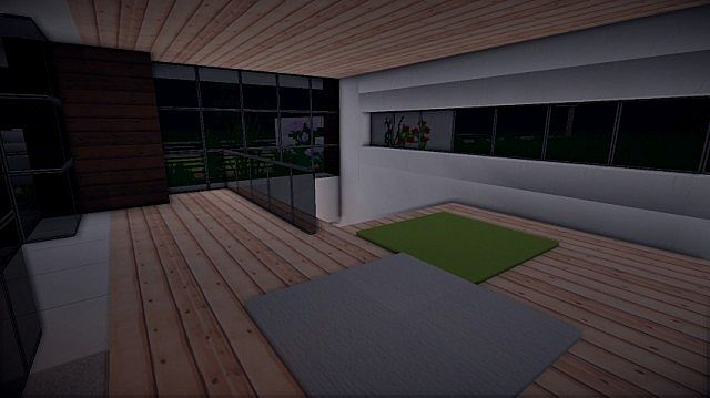 Prologue Modern House build minecraft 9