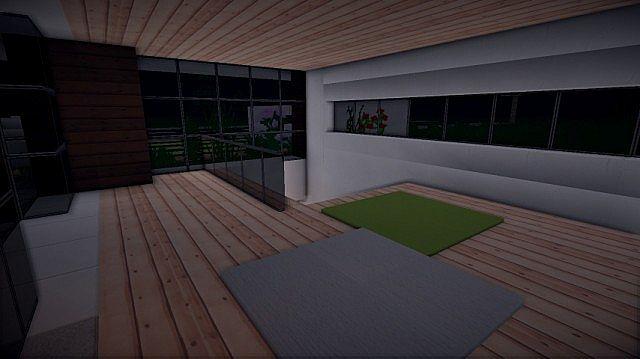 Prologue Modern House build minecraft 9