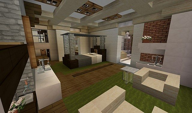 Southern Country Mansion Creative Minecraft building ideas 7