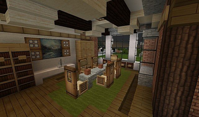 French Country Home minecraft house build 4