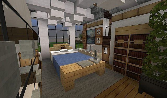 French Country Home minecraft house build 7