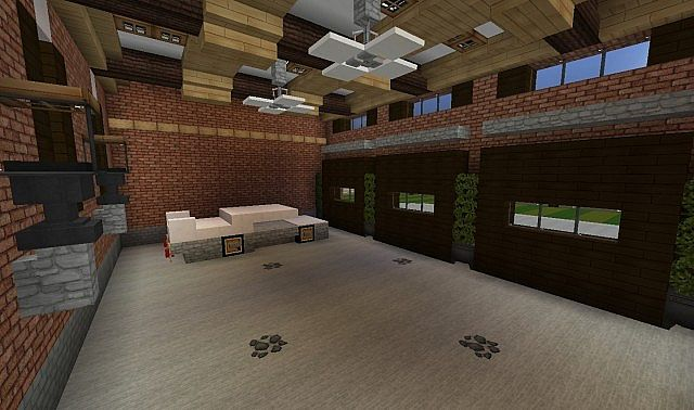 Plantation Home - Country Old Brick minecraft house ideas 10