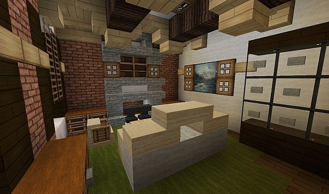 Plantation Home - Country Old Brick minecraft house ideas 3