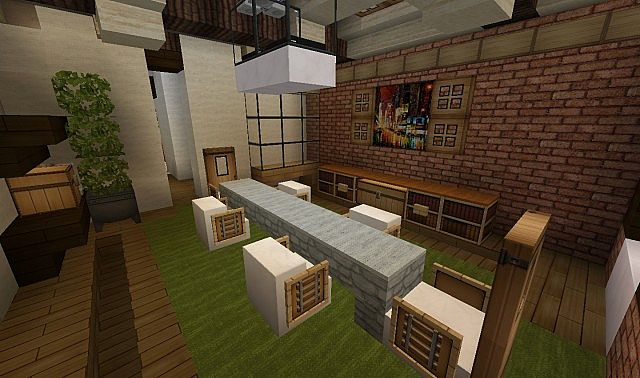 Plantation Home - Country Old Brick minecraft house ideas 4