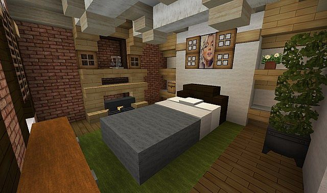 Plantation Home - Country Old Brick minecraft house ideas 8