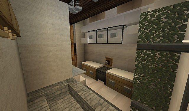 Georgian Home minecraft house design build ideas 12