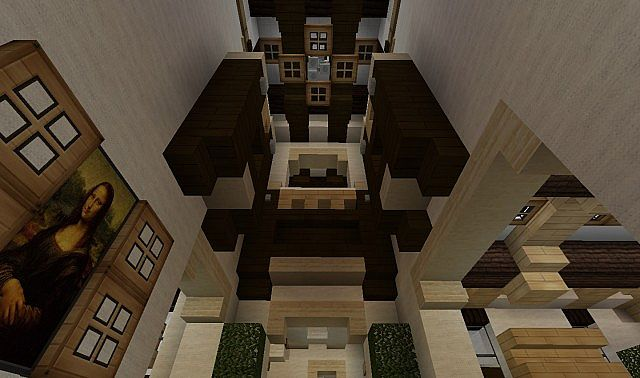 Georgian Home minecraft house design build ideas 4