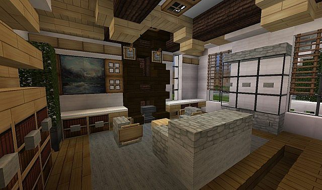 Georgian Home Minecraft House Design Build Ideas 6