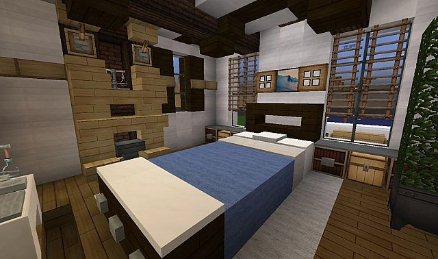 Georgian Home minecraft house design build ideas 9
