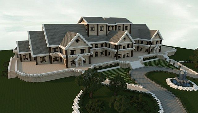 Luxury Mansion minecraft building ideas house design 2