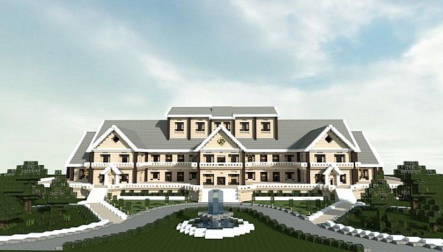 Luxury Mansion Minecraft House Design