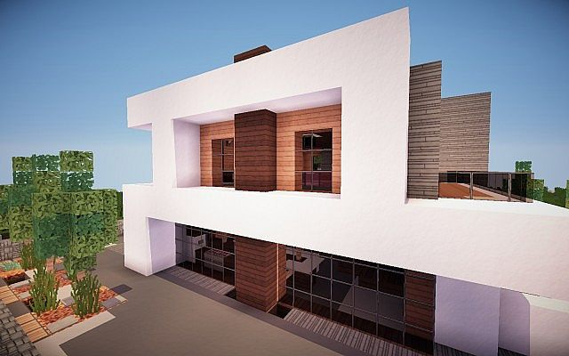 Squared Modern Home design building ideas patio pool 4
