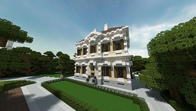 Crespi Estate Rebuild Minecraft house mansion acres luxury building ideas 2
