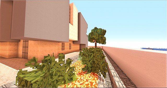 Cubic Estate minecraft house building ideas industrial 3