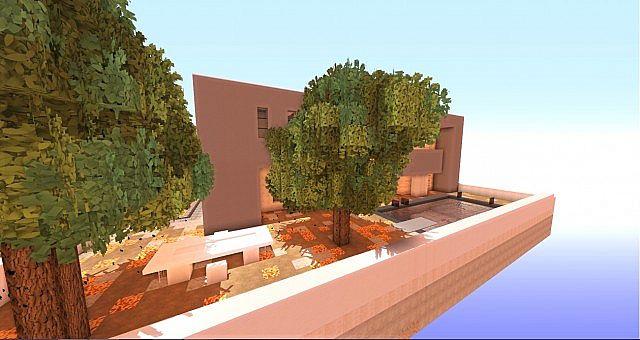 Cubic Estate minecraft house building ideas industrial 4