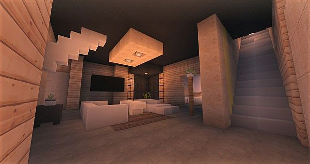 Cubic Estate minecraft house building ideas industrial 5