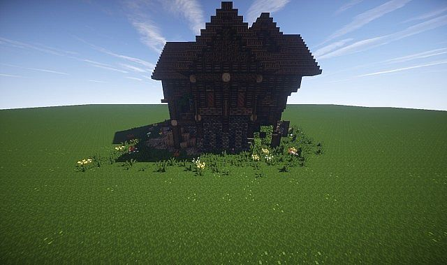 Large Medieval House How To Timelapse video minecraft screenshot build 4