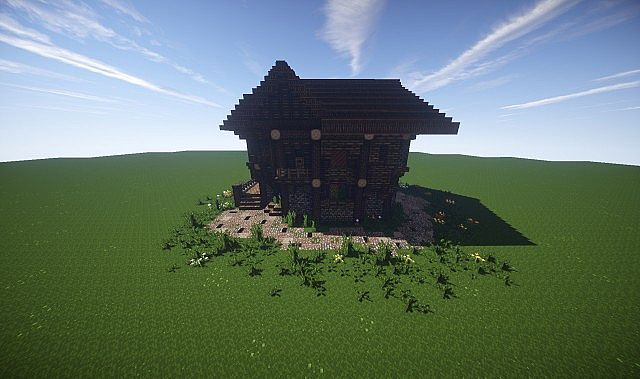 Large Medieval House How To Timelapse video minecraft screenshot build 7