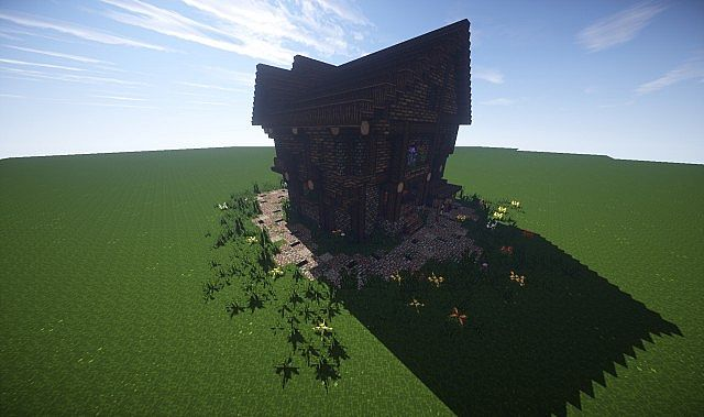 Large Medieval House How To Timelapse video minecraft screenshot build 8
