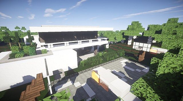 aspire modern beach house 2 � minecraft house design