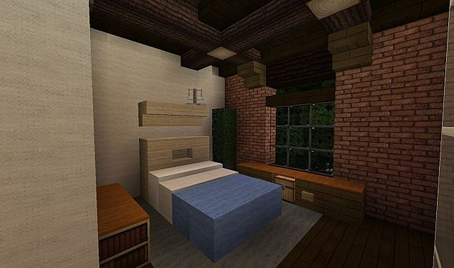 French Acadian Bungalow Minecraft building house ideas brick country 7