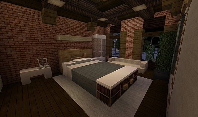 French Acadian Bungalow Minecraft building house ideas brick country 8