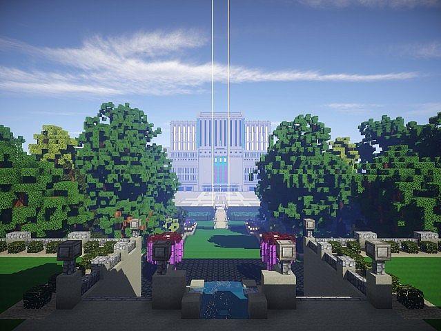 Snows Mansion minecraft building ideas house huge amazing 2