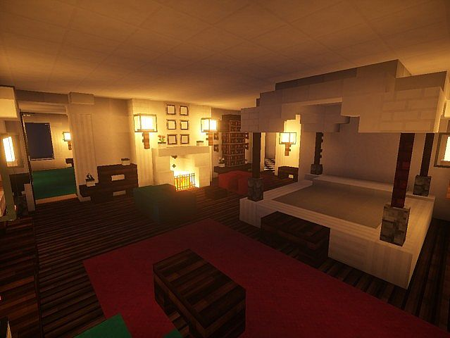 Snows mansion minecraft house design for Inside amazing homes