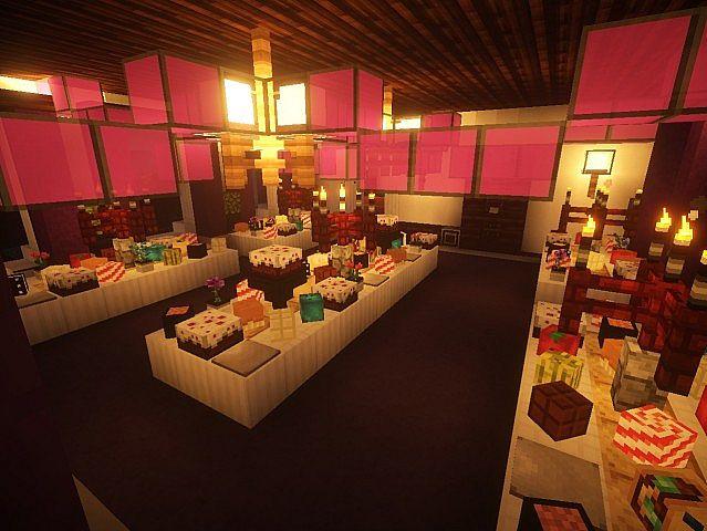 Snows Mansion minecraft building ideas house huge amazing inside 8