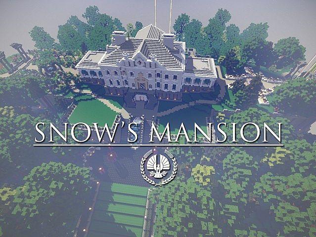 Snows Mansion minecraft building ideas house huge amazing