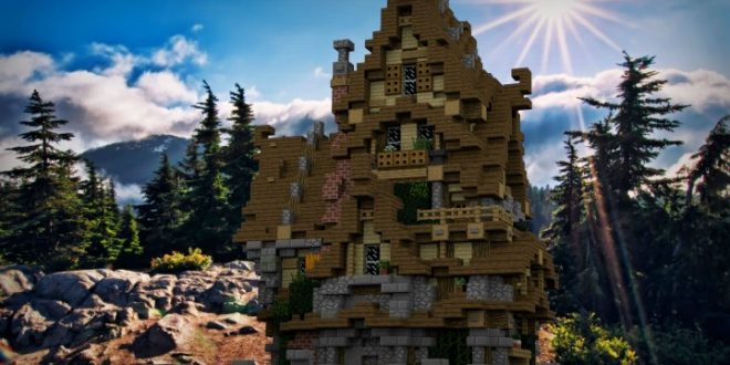 Two Story Medieval House  U2013 Minecraft House Design