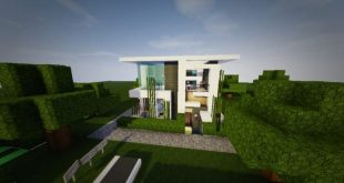 TheModern Pvper's Modern House 1 minecraft building home ideas small