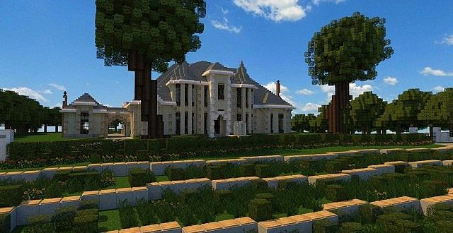 French country manor minecraft house design for French country manor