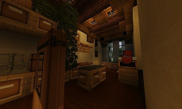 French Country Manor 3 minecraft house ideas design download workroom storage room