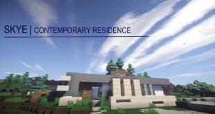 Skye Contemporary Residence minecraft house home style flows hd