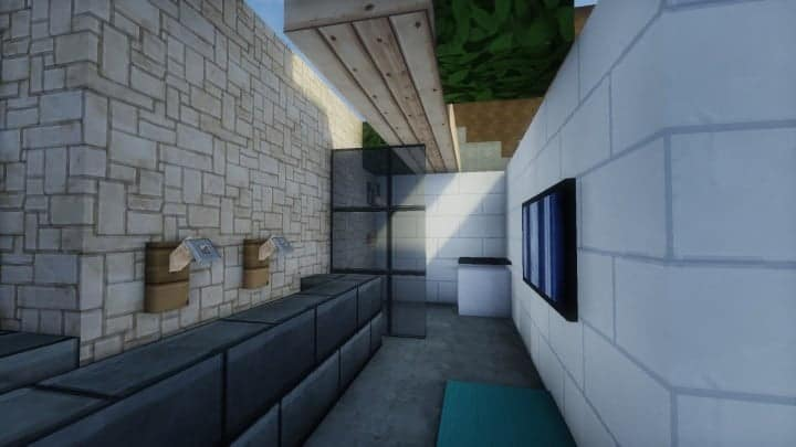 Skye Contemporary Residence minecraft house home style flows hd 6