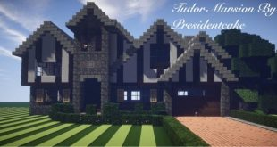 Tudor Mansion minecraft house building ideas download home