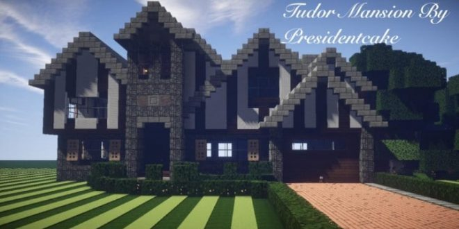 Tudor Mansion Minecraft House Design