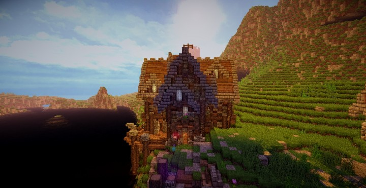 A survival home in the town ready for minecraft building ideas cottage 2
