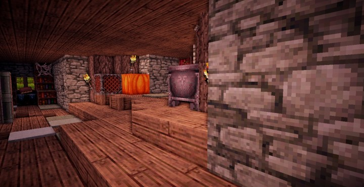A survival home in the town ready for minecraft building ideas cottage 3