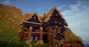 A survival home in the town ready for minecraft building ideas cottage