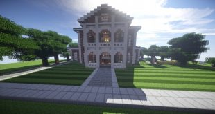 Georgian Estate 2 Minecraft building house home country old 01