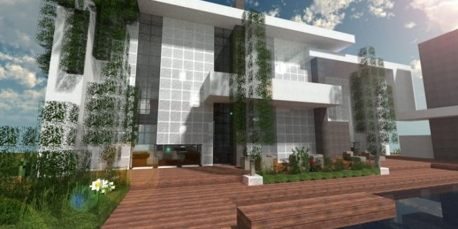 The Dogme minecraft modern house home pool download minimalistic 660x330 the dogme home minecraft house design,Minecraft Home Design