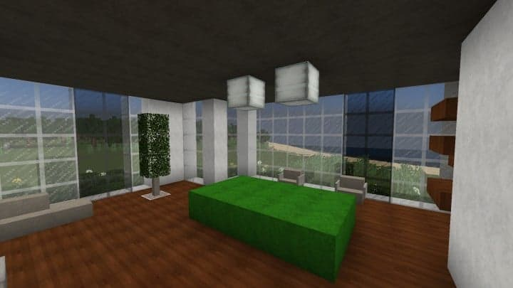 The Dogme minecraft modern house home pool download minimalistic 7