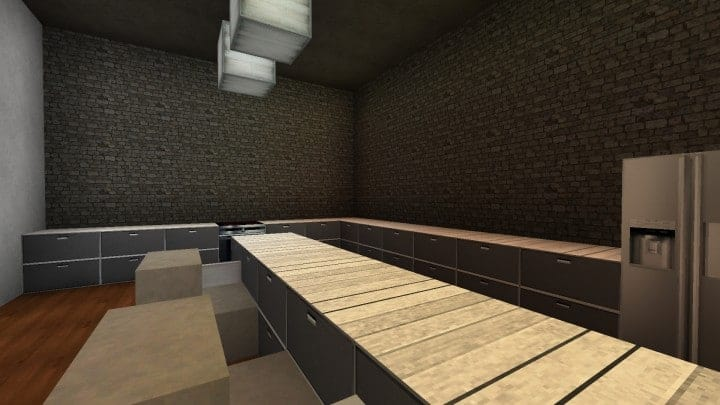 The Dogme minecraft modern house home pool download minimalistic 8