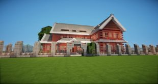 Traditional House brick country minecraft building ideas download