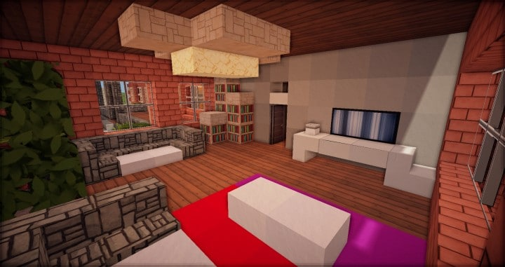 Traditional House brick country minecraft building ideas download 5