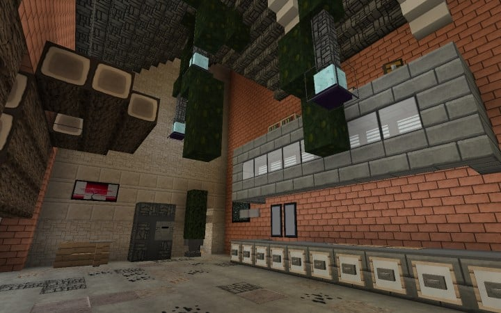 Large Suburban House minecraft building amazing idea download 11
