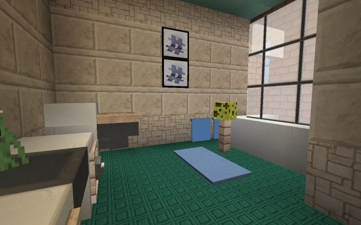 Large Suburban House minecraft building amazing idea download 15